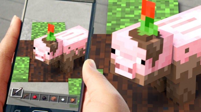 Ya está disponible la beta de 'Minecraft Earth' para dispositivos Android