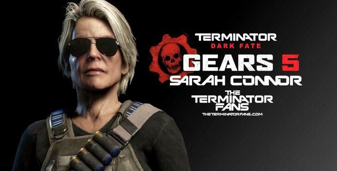 Microsoft muestra primer gameplay de Gears 5 con Sarah Connor en la Gamescom