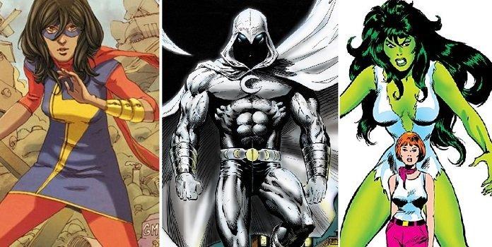 Marvel Studios confirma series de 'Ms. Marvel', 'Moon Knight' y 'She-Hulk'