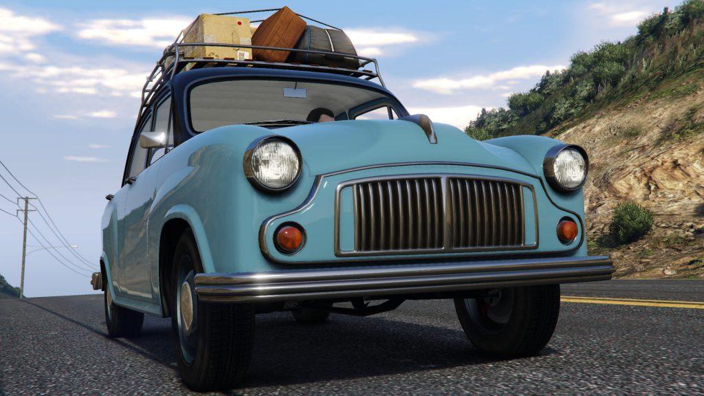 GTA Online apunta a la estética retro en su nueva actualización
