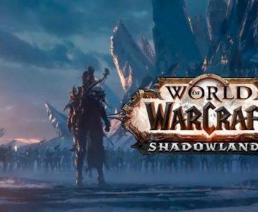 Portada de World of Warcraft Shadowlands con Sylvanas a la espera de enfrentar a Bolvar