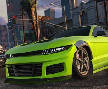 Maibatsu Penumbra verde de GTA V