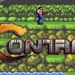 Protagonista de Contra luchando en una selva en 2D contra otros combatientes armados