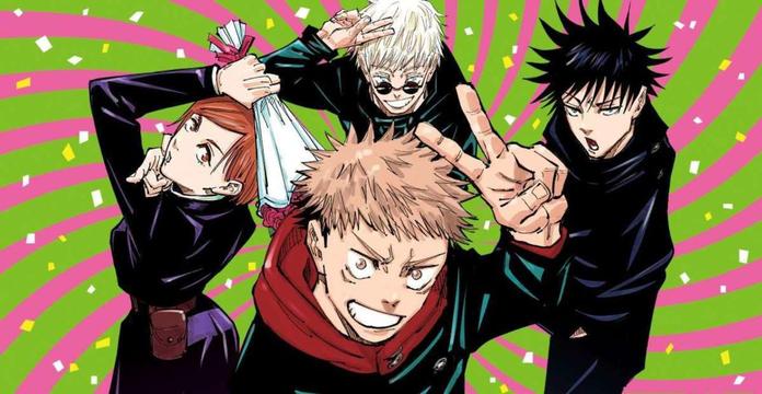 Imagen promocional del manga de Jujutsu Kaisen