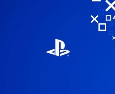 Logotipo universal de la marca PlayStation en fondo azul
