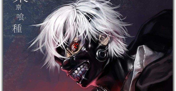 Poster de Ken Kaneki en Tokyo Ghoul