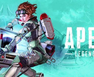 Poster promocional de Apex Legends con Horizon.