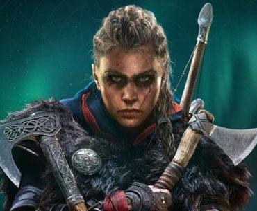 Eivor en versión femenina, protagonista de Assassin's Creed.