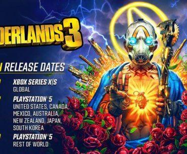 Detalles de lanzamiento de la versión next gen de Borderlands 3.
