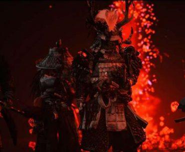 Jugadores de Ghost of Tsushima disfrutando del nuevo modo cooperativo.