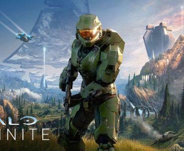 Portada de Halo Infinite con el Jefe Maestro.