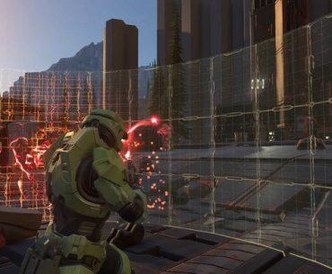Gameplay de Halo con el Jefe Maestro.