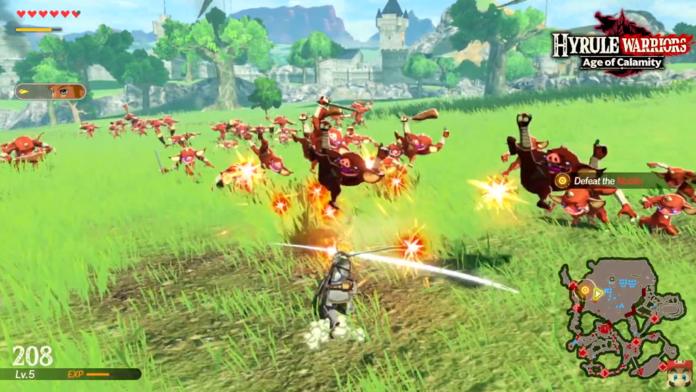 La Demo De Hyrule Warriors Age Of Calamity Ya Esta Disponible En Switch