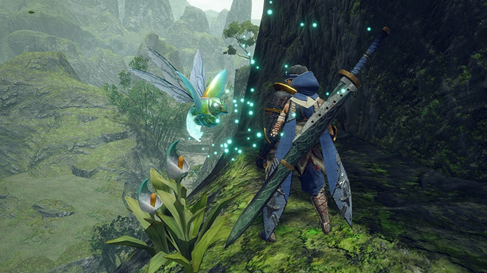 wirebug de Monster Hunter Rise.