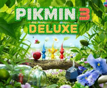 Portada de Pikmin 3 Deluxe con Pikmins.