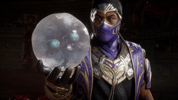 Rain sostiene los globos oculares de una víctima de su fatality.