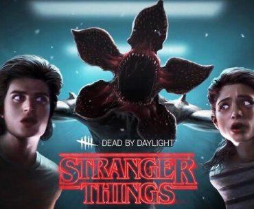 Póster de Stranger Things en Dead By Daylight con Nancy Wheeler y Steve Harrington.