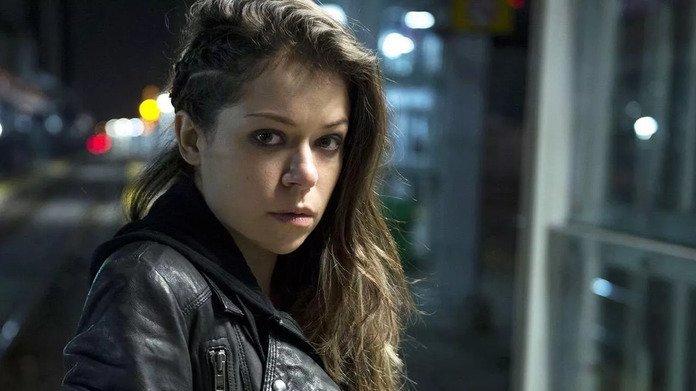 Tatiana Maslany en Orphan Black,.