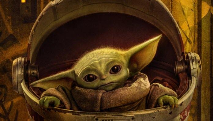 Baby Yoda de The Mandalorianen su carruaje en el que se traslada