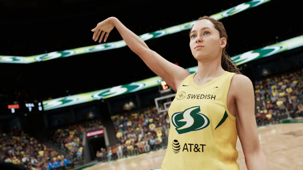 Breanna Stewart de los Seattle Storm.