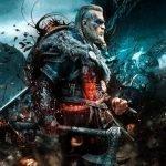 Protagonista de Assassin's Creed Valhalla en medio del campo de batalla