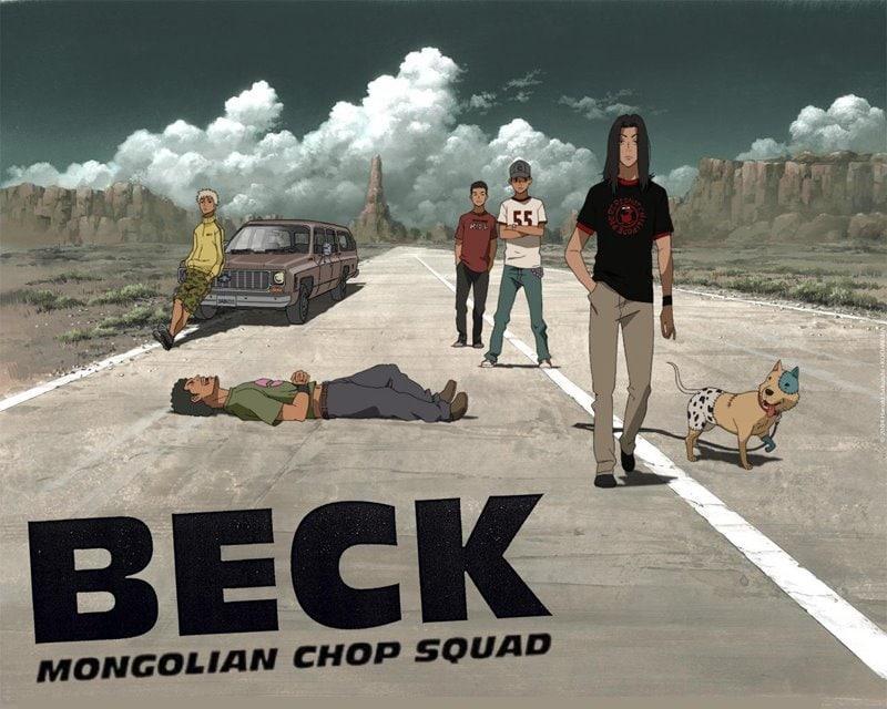 Póster de Beck Mongolian Chop Squad