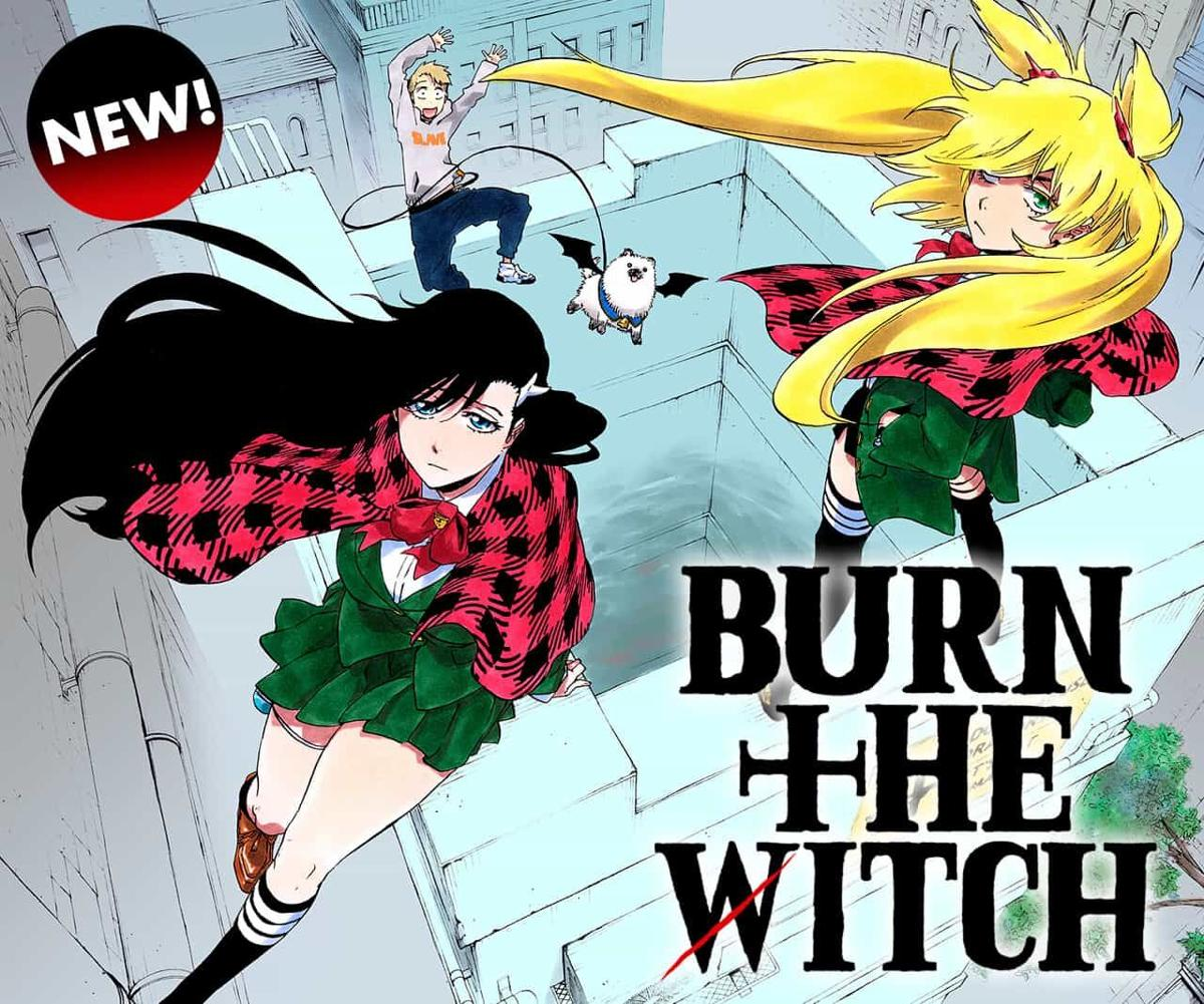 Protagonistas de Burn the Witch