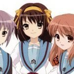 Protagonistas de Suzumiya Haruhi no Yuuutsu