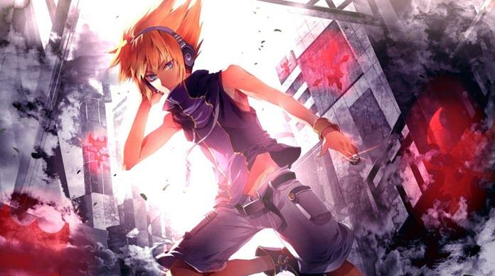 Uno de los protagonistas del animeThe World Ends With You