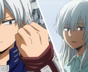 Todoroki y Rei en My Hero Academia