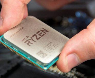 instalando un procesador Ryzen.