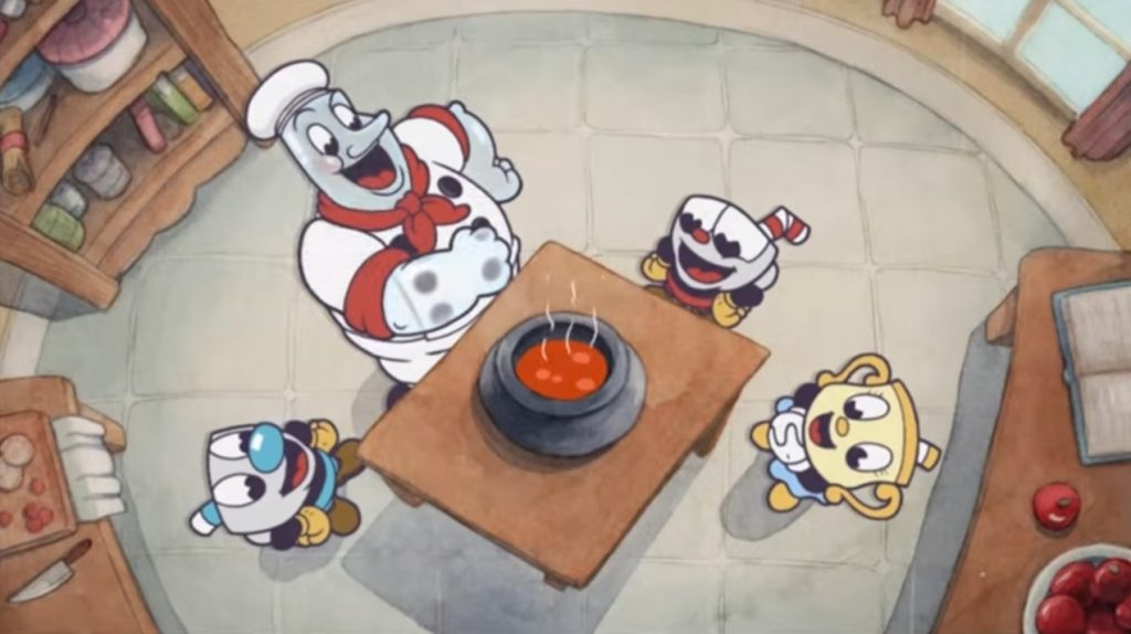 imagen promocional de  The Delicious Last Course con dos personajes nuevos.