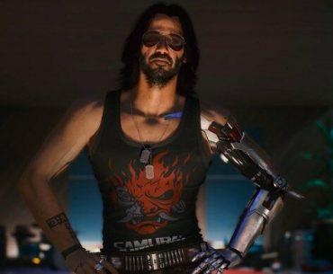 Johnny Silverhand de Cyberpunk 2077.