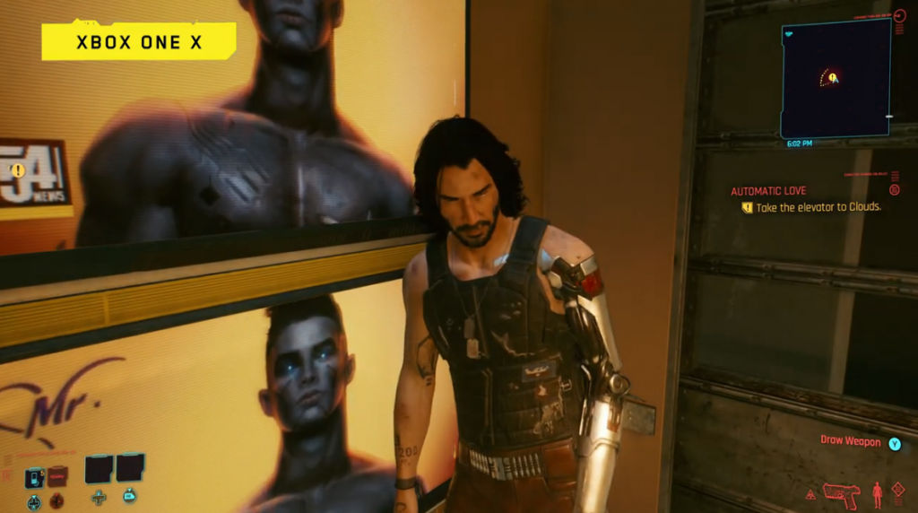 Johnny Silverhand en Xbox One