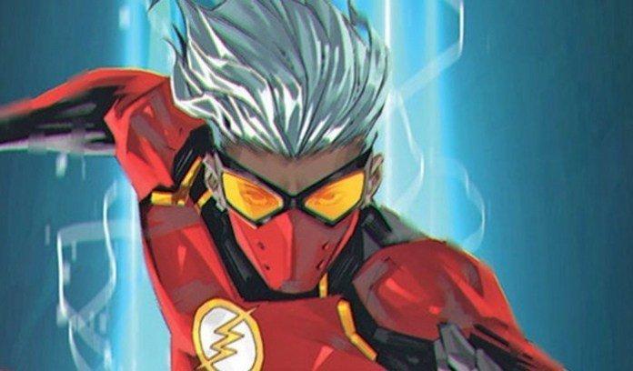 Imagen promocional de Jesse Chambers como Flash