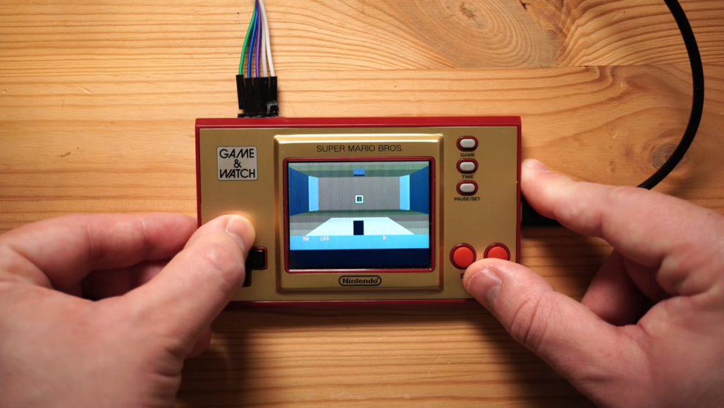 Primera imagen de DOOM en la Game & Watch.