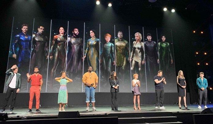 Elenco completo de Eternals de Marvel Studios