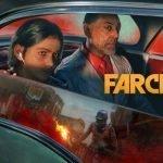 El malvado dictador protagonizado por Giancarlo Esposito de Far Cry 6 y su hijo viajando en un carro