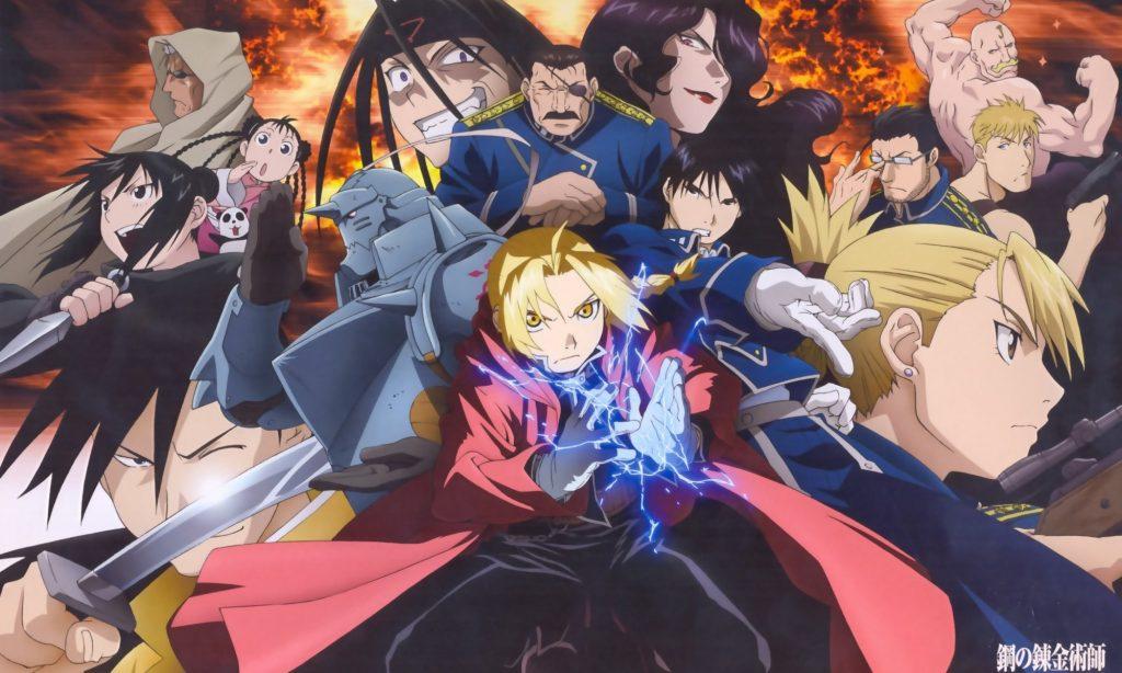 Elenco de Fullmetal Alchemist Brotherhood