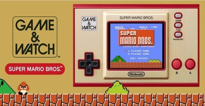 Game & Watch: Sup Mario Bros de Nintendo