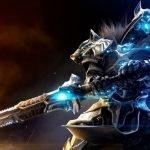 Protagonista de Godfall con su espada