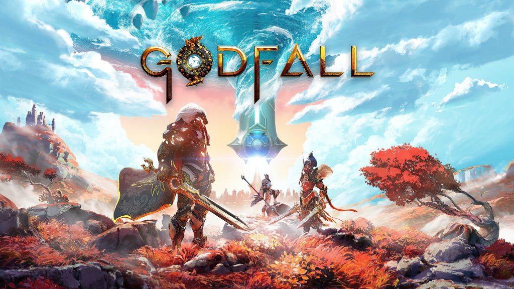 Imagen promocional de Godfall.