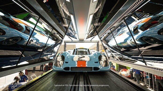 Imagen promocional de Gran Turismo 7.