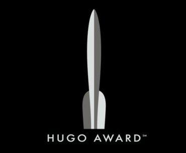 Logo de los Hugo Awards con un fondo de color negro