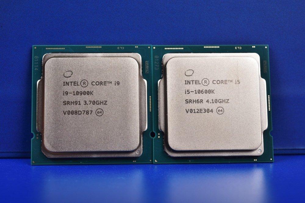 Procesadores i5-10600K.