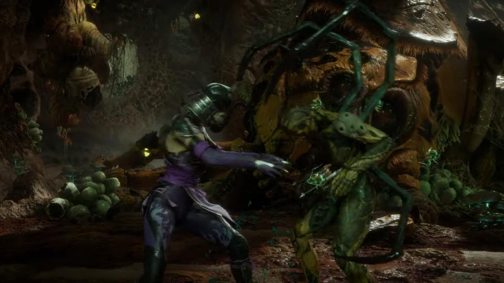 Mileena contra D'vorah en el nuevo tráiler de Mortal Kombat 11.