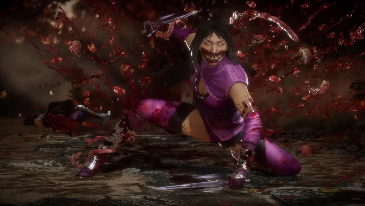 Fatality de Mileena en el nuevo tráiler de Mortal Kombat 11.