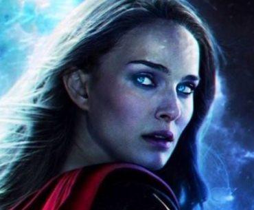 Natalie Portman con sus nuevos poderes para Thor: Love and Thunder