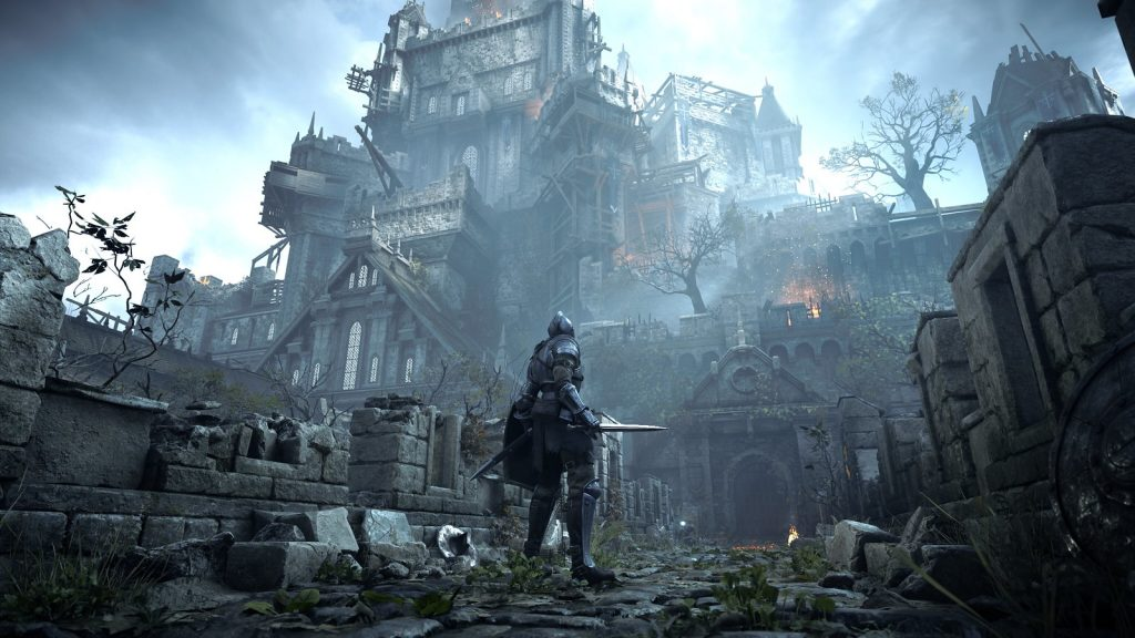 Imagen de jugabilidad de Demon's Souls.