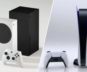 Consolas Xbox Series X, S y PlayStation 5.